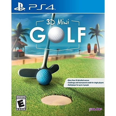 3D Mini Golf [PlayStation 4]