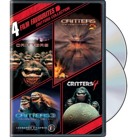 4 Film Favorites: Critters Collection [DVD]