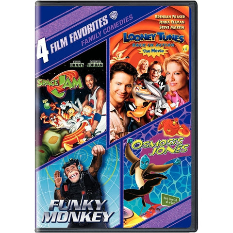 4 Film Favorites: Family Comedies [DVD]