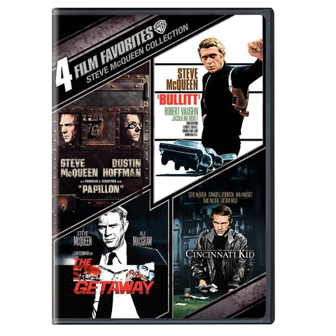 4 Film Favorites: Steve McQueen Collection [DVD]