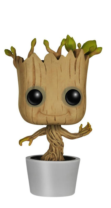 Funko POP! Marvel: Guardians of the Galaxy - Dancing Groot Vinyl Bobble-head [Toys, Ages 3+, #65]