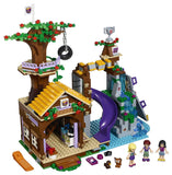 LEGO Friends Adventure Camp Tree House 726 Piece Building Kit [LEGO, #41122, Ages 7-12]