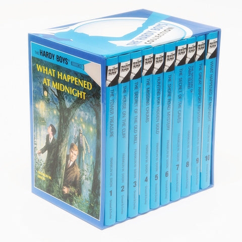 The Hardy Boys Mystery Collection Volume 1-10 [10 Hardcover Book Set]
