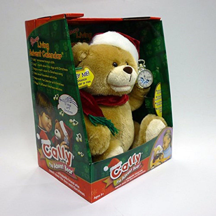 Cally The Advent Bear [Toys, Ages 3+]