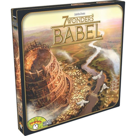 7 Wonders: Babel Expansion [Card Game, 2-7 Players]