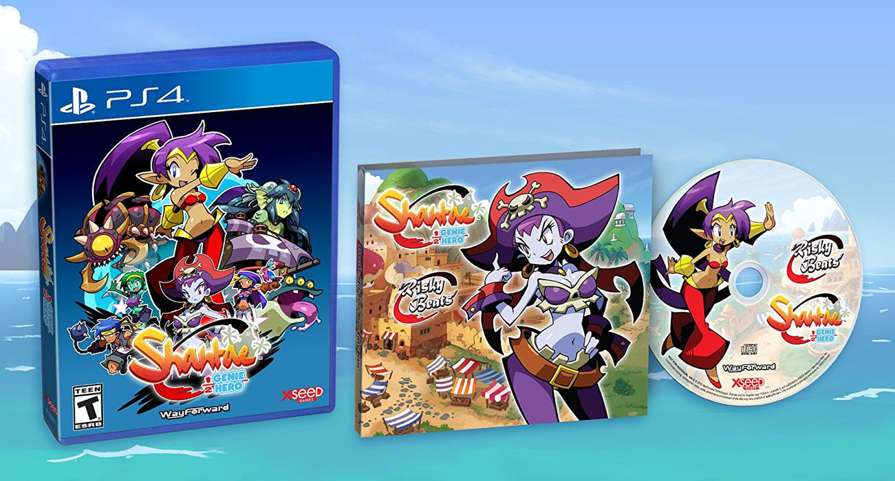 Shantae: Half-Genie Hero - Risky Beats Edition [PlayStation 4]