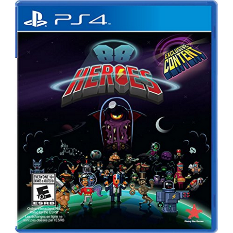 88 Heroes [PlayStation 4]
