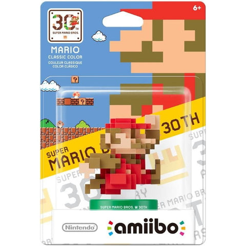 8-Bit Mario - Classic Color Amiibo - 30th Anniversary Mario Series [Nintendo Accessory]