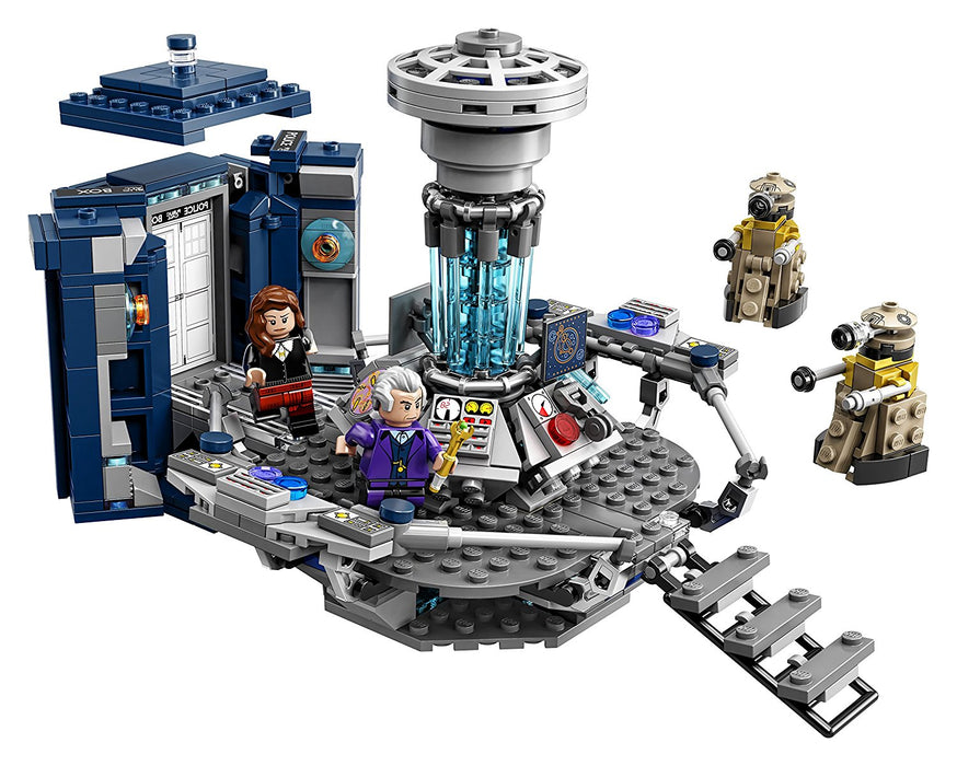 LEGO Ideas - Doctor Who 625 Piece Building Kit [LEGO, #21304, Ages 10+]