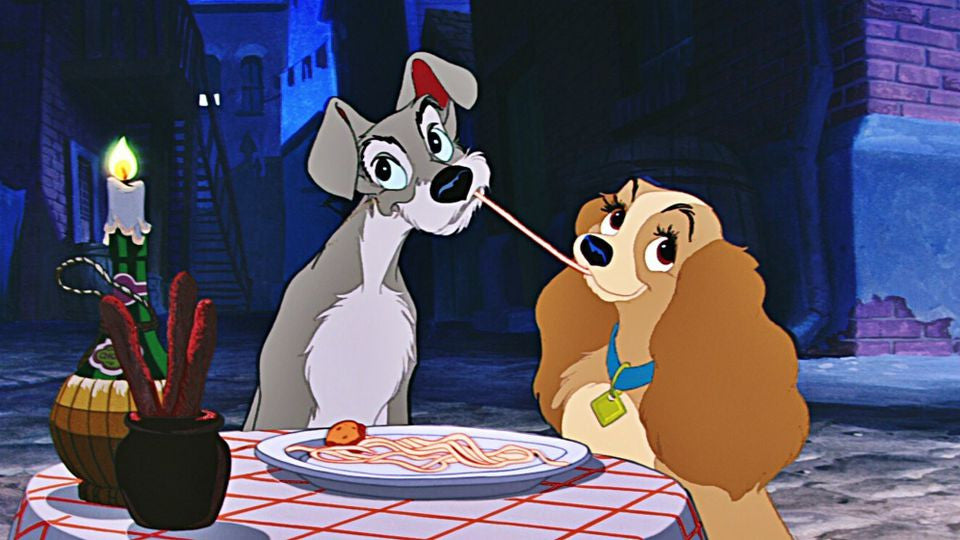 Disney's Lady And The Tramp [Blu-Ray]