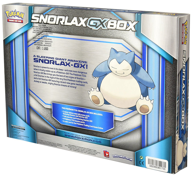 Pokemon TCG Snorlax-GX Box [Card Game, 2 Players]