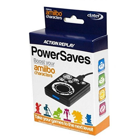 Datel Action Replay PowerSaves for All Amiibo Characters - Black [Nintendo Accessory]
