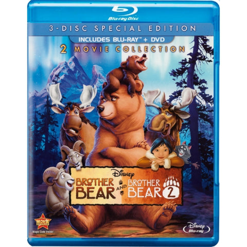 Disney's Brother Bear & Brother Bear 2 - Special Edition [Blu-Ray 2-Movie Collection]