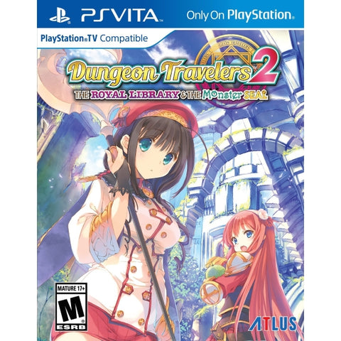 Dungeon Travelers 2: The Royal Library & the Monster Seal [Sony PS Vita]
