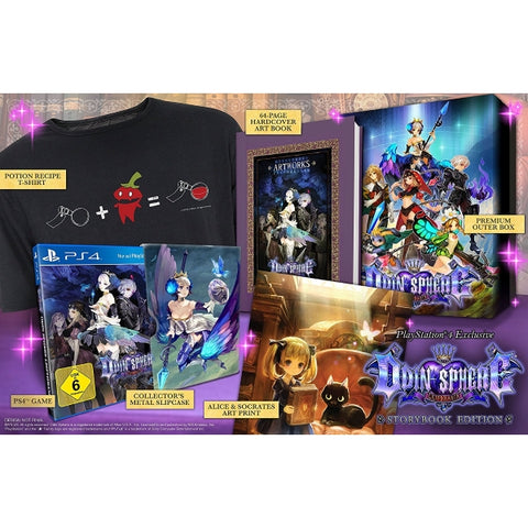Odin Sphere Leifthrasir - Storybook Edition [PlayStation 4]