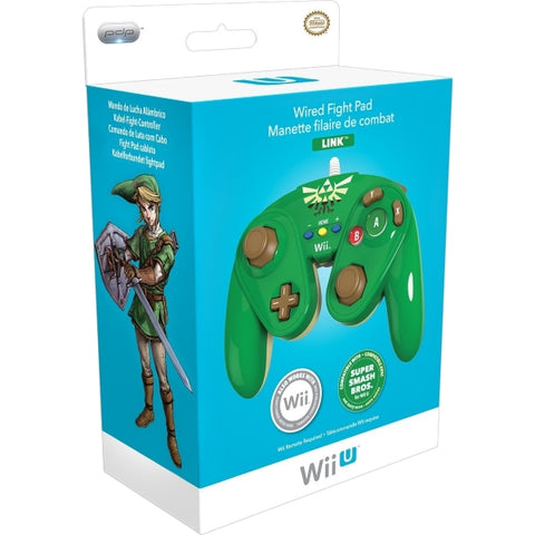 PDP Wired Fight Pad Controller - Link [Nintendo Accessory]