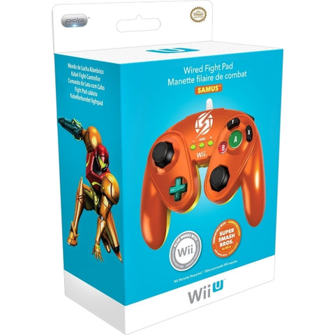 PDP Wired Fight Pad Controller - Samus [Nintendo Accessory]