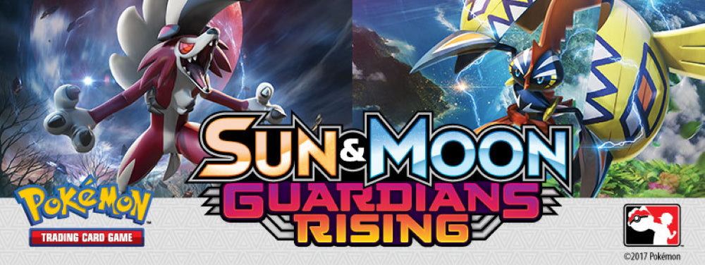 Pokemon TCG Sun & Moon - Guardians Rising Elite Trainer Box [Card Game, 2 Players]
