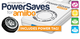 Datel Action Replay PowerSaves for All Amiibo Characters - White + Power tag [Nintendo Accessory]
