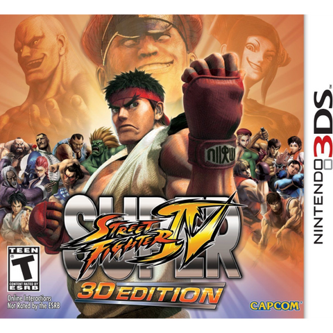 Super Street Fighter IV: 3D Edition [Nintendo 3DS]