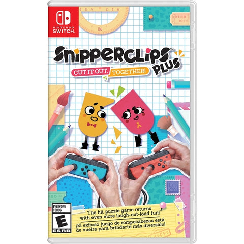 Snipperclips Plus: Cut It Out, Together! [Nintendo Switch]