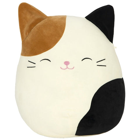 "Squishy SquooShems Squishmallows - Cameron 'Cam' 16"" Plush Cat Pillow [Toys, Ages 4+]"