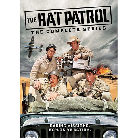 The Rat Patrol - The Complete Series [DVD Box Set]