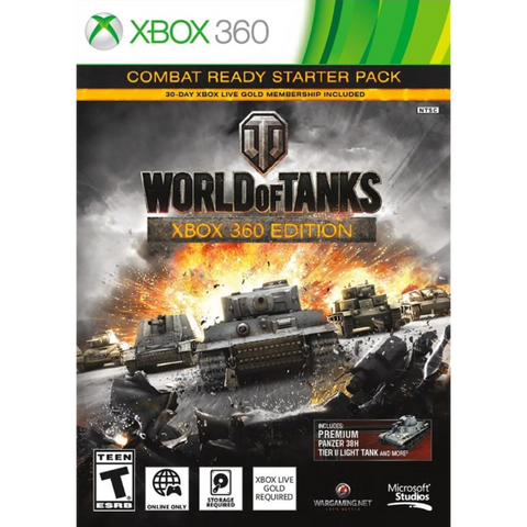 World Of Tanks: Combat Ready Starter Pack [Xbox 360]