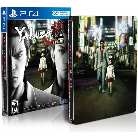 Yakuza Kiwami - Steelbook Edition [PlayStation 4]