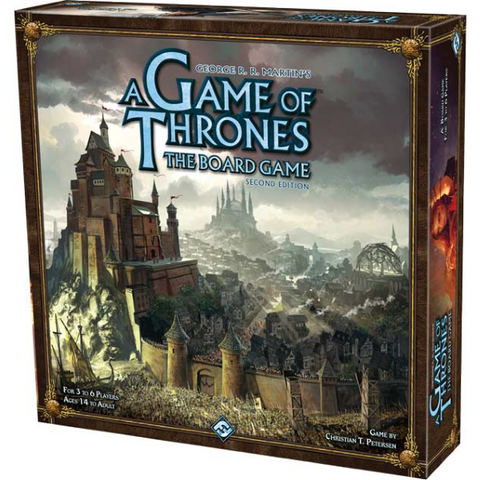 A Game of Thrones: The Board Game - Second Edition [Board Game, 3-6 Players]