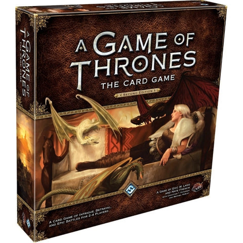 A Game of Thrones: The Card Game - Second Edition [Card Game, 2-4 Players]