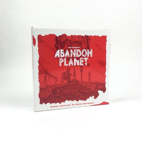 Abandon Planet [Board Game, 4-8 Players]