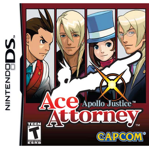 Apollo Justice: Ace Attorney [Nintendo DS DSi]