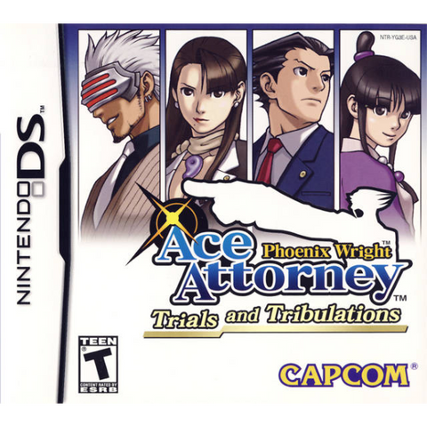 Phoenix Wright: Ace Attorney - Trials And Tribulations [Nintendo DS DSi]