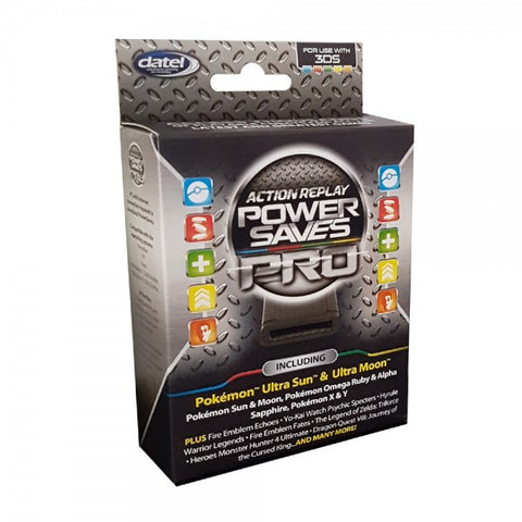 Datel Action Replay Power Saves Pro 3DS [Nintendo 3DS Accessory]