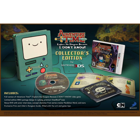 Adventure Time: Explore the Dungeon Because I Don't  Know! - Collector's Edition [Nintendo 3DS]