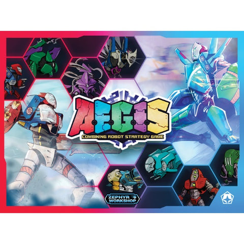 A.E.G.I.S.: Combining Robot Strategy Game [Board Game, 2-6 Players]
