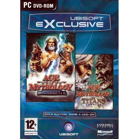 Age of Mythology Gold Edition: Game + Titans Expansion [PC]
