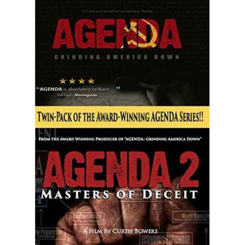 Agenda: Grinding America Down / Agenda 2: Masters of Deceit - Twin-Pack [DVD Box Set]