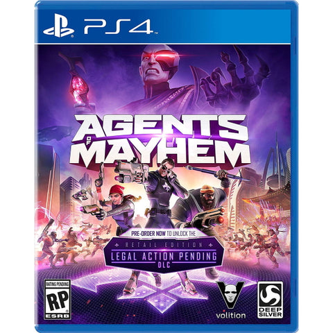 Agents of Mayhem - Day One Edition  [PlayStation 4]
