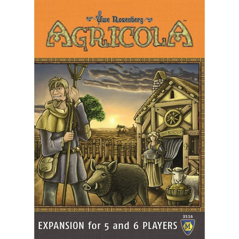 Agricola EXPANSION for 5 and 6 Players [Board Game, 2-6 Players]