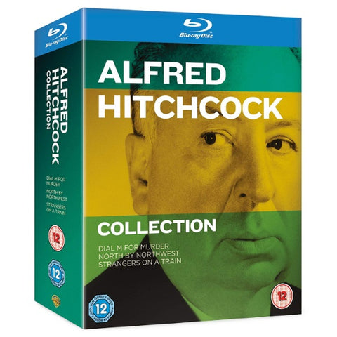Alfred Hitchcock 3-Movie Collection [Blu-Ray Box Set]