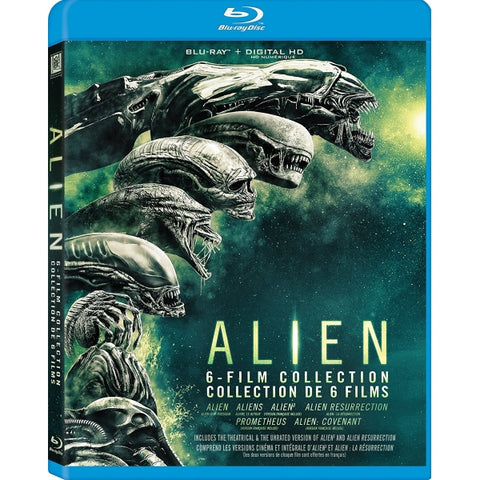 Alien 6-Film Collection [Blu-Ray Box Set]