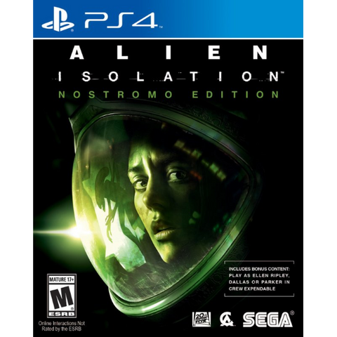 Alien: Isolation - Nostromo Edition [PlayStation 4]