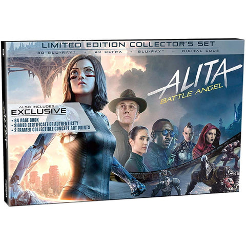 Alita: Battle Angel - Limited Edition Collector's Set [3D + 2D Blu-Ray + 4K UHD + Digital]