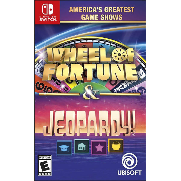 America's Greatest Game Shows: Wheel of Fortune & Jeopardy! [Nintendo Switch]
