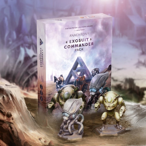 Anachrony: Exosuit Commander Pack [Board Game, 1-4 Players]