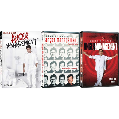 Anger Management: Season 1 & Season 2 - Vol. 1 + 2 [DVD Box Set]
