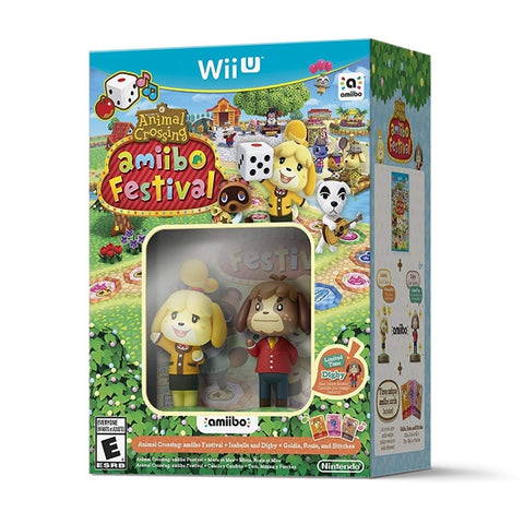 Animal Crossing: Amiibo Festival + Isabelle & Digby Amiibos + Goldie, Rosie and Stitches [Nintendo Wii U]