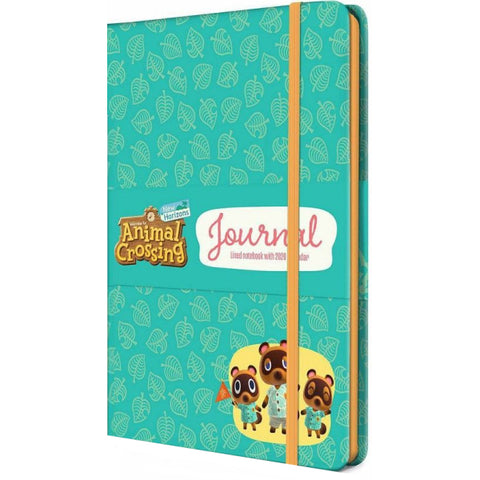 Animal Crossing: New Horizons Journal with Calendar [Nintendo Switch Accessory]